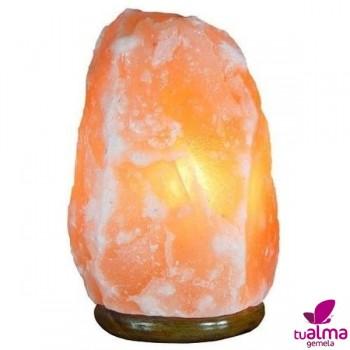 lampara de sal natural