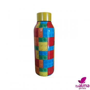 botella aislante termo lego