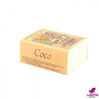 jabon natural vegano coco