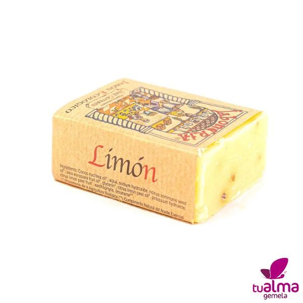 jabon natural vegano limon