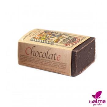 jabon natural vegano chocolate