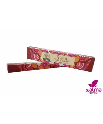 paquetes de orkay namaste incienso natural rosa con vainilla