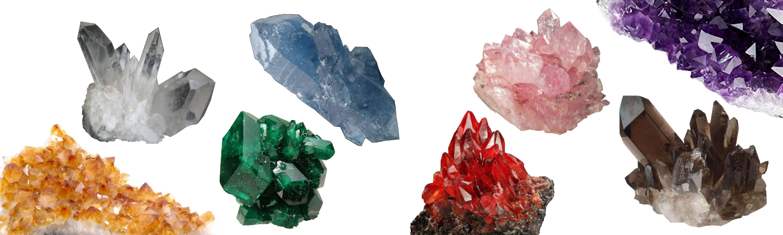 Cuarzos mineral colores